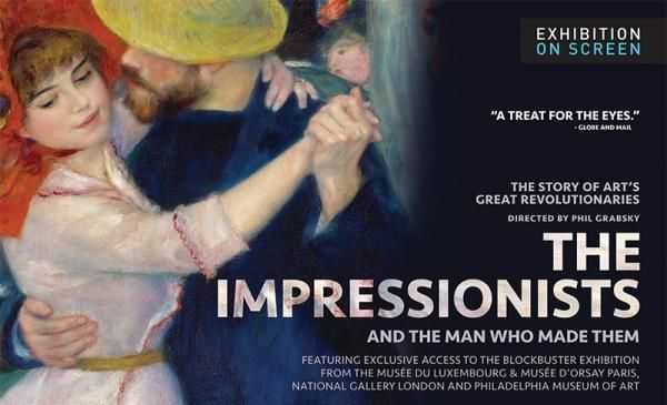 The Impressionists showing in Rome