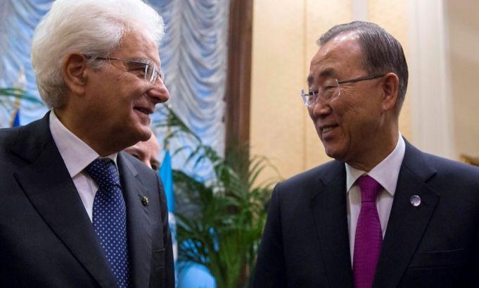 Ban Ki Moon praises Italy
