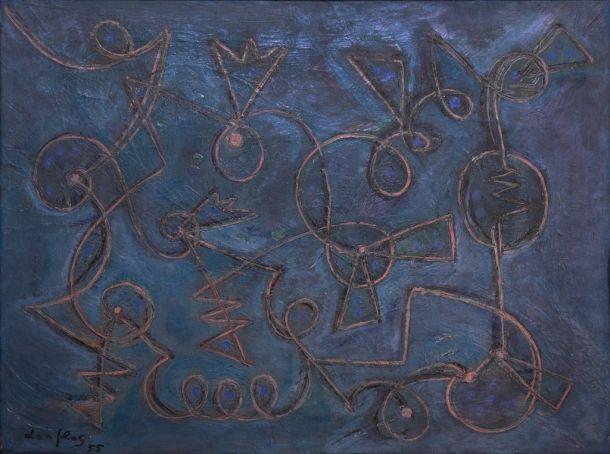 Composizione Turchese (1955)