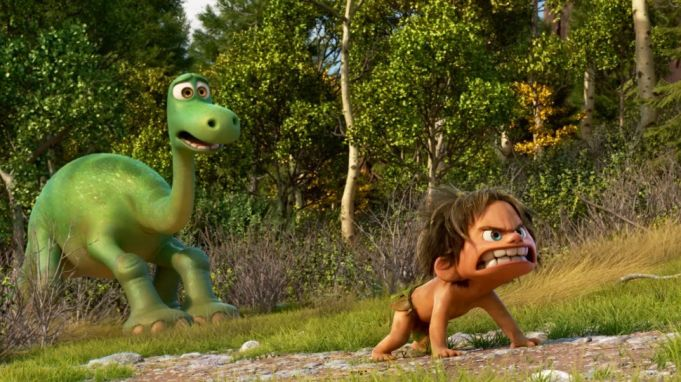 The Good Dinosaur showing in Rome