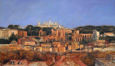 Germano Paolini: Roma, l'ipnotico cromatico