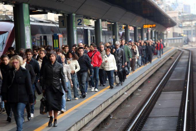 National train strike hits Rome