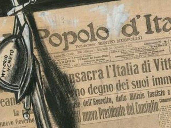 Mario Sironi e le illustrazioni per Il Popolo d'Italia 1921-1940