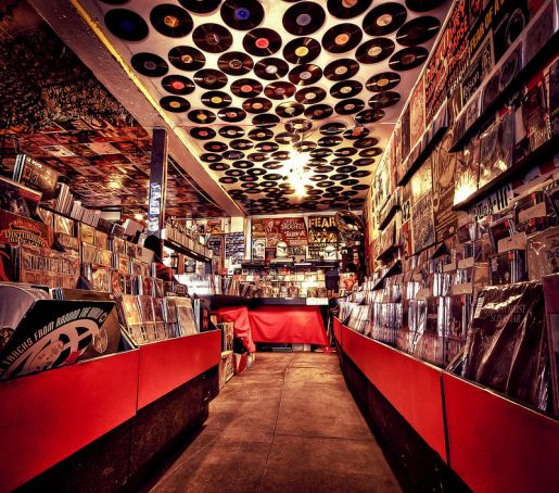 Top 10 vinyl record shops in Rome