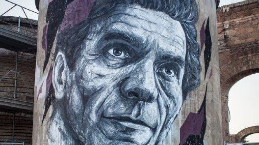 Pasolini murals in Rome