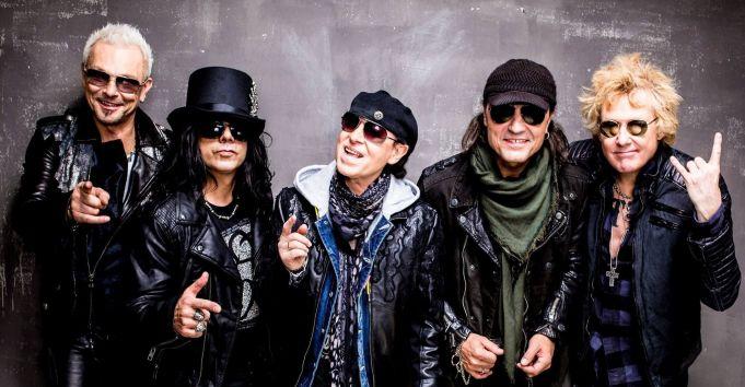 Scorpions concert in Rome