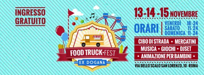 Street Truck Fest in Rome