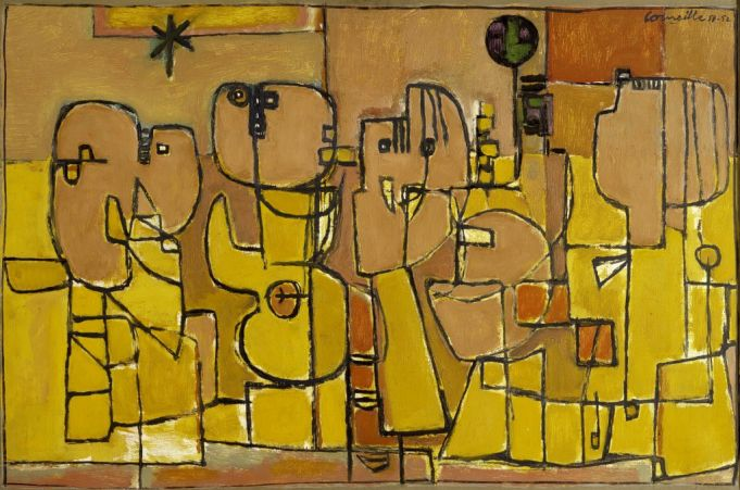 Habitants du desert (1951-52) by Corneille