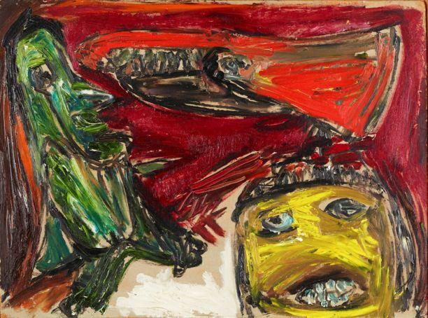 Ravnen (1952) by Asger Jorn