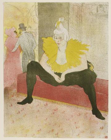 08_The Seated Clowness (Mademoiselle Cha-U-Kao)