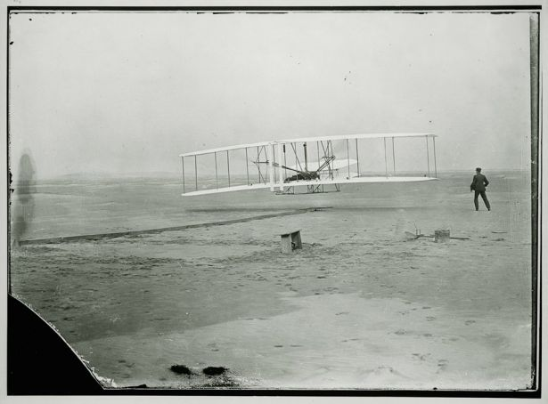 December 17, 1903. First flight ever.