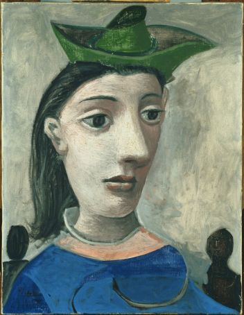 Woman in a Green Hat by Picasso