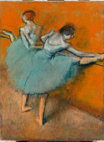 Dancers at the Barre by Degas