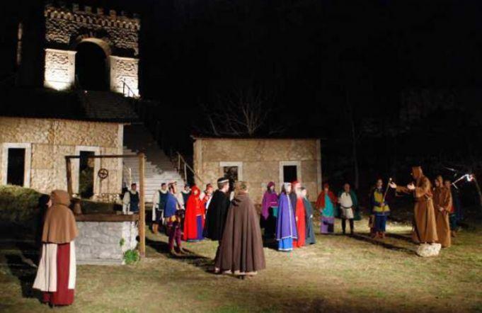 Greccio still stages a live Nativity each year