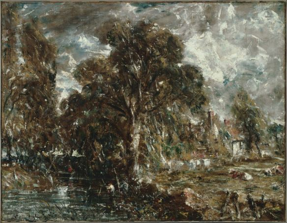 On the River Stour by John Constable