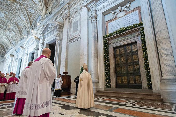 Launch of Holy Jubilee Year of Mercy in Rome