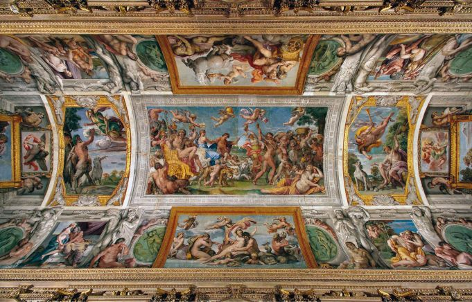 Restoration of Rome's Galleria Carracci
