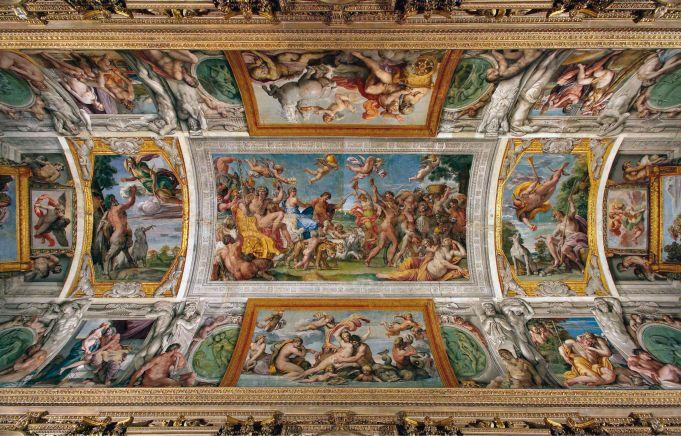 Restoration of Rome's Galleria Carracci