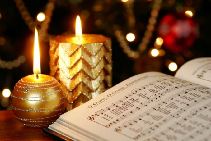 Christmas carols at Babington's
