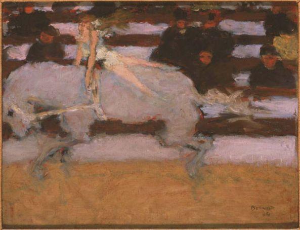 Circus Rider by Bonnard