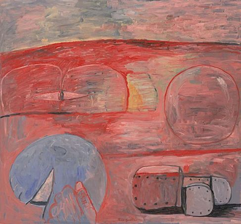 The Lesson by Guston