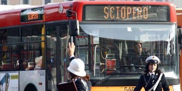 Rome public transport strikes on 4 December