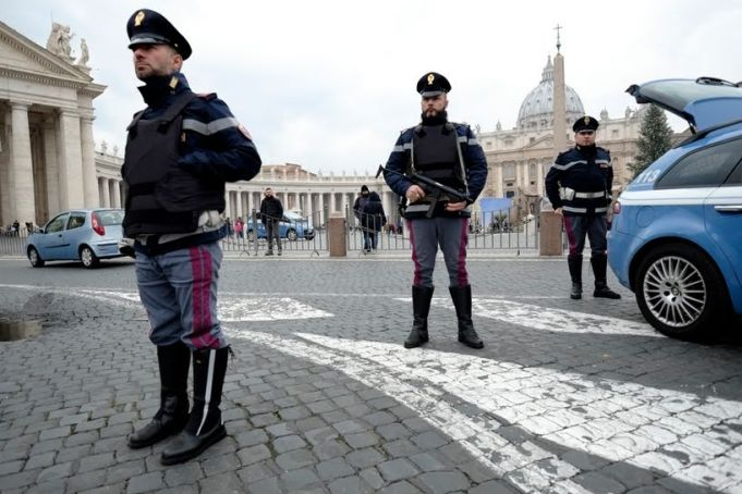 Extra security for Rome