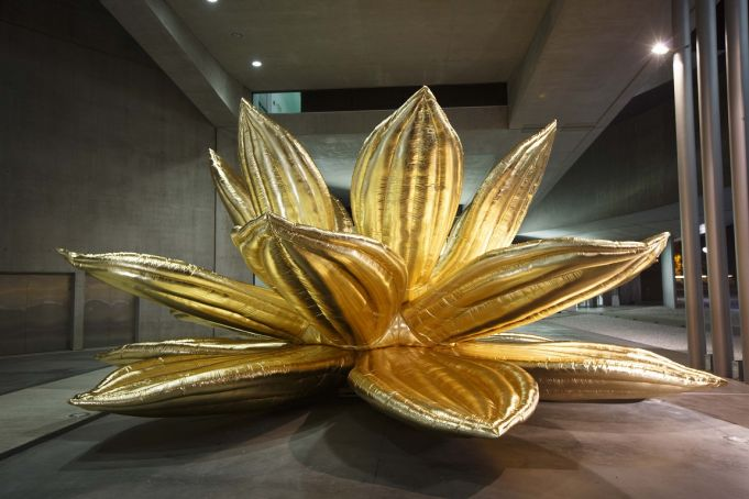 MAXXI displays Golden Lotus in Rome city centre