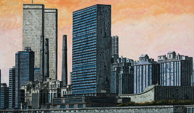 Tonino Caputo: Manhattan View