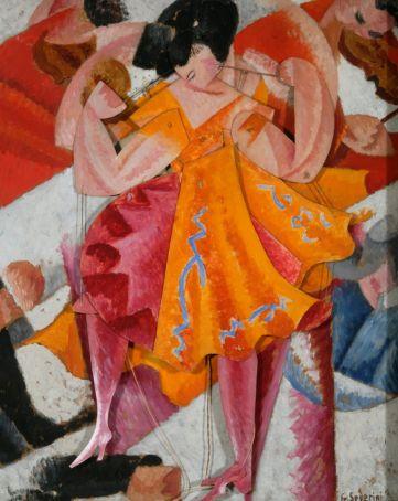 Danseuse articulée by Gino Severini