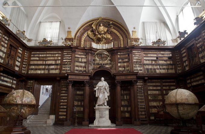 Rome's secret libraries