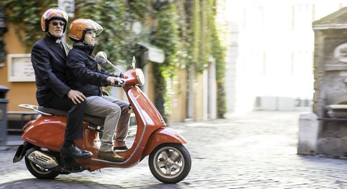 Scooterino Amen launches in Rome