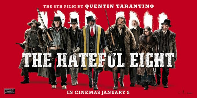 The Hateful Eight showing in Rome