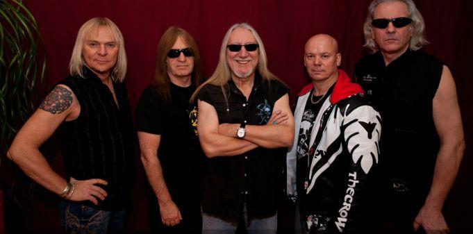 Uriah Heep concert in Rome
