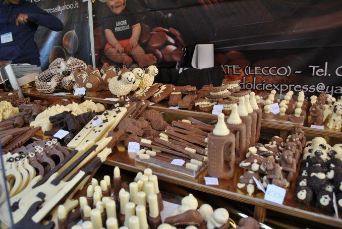 Cioccolentino chocolate festival in Terni
