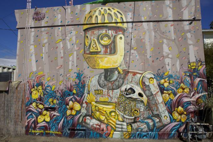 pixel pancho rome exhibition galleria varsi street art