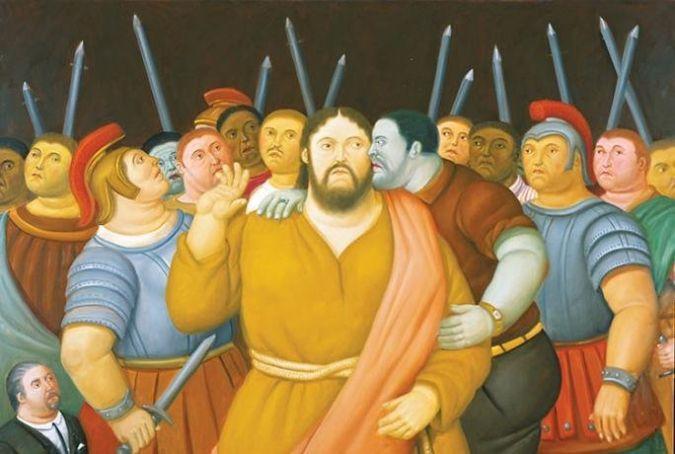 Botero: Via Crucis: La Passione di Cristo