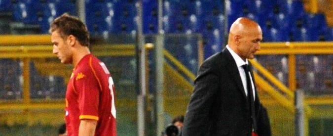 Totti clashes with AS Roma coach
