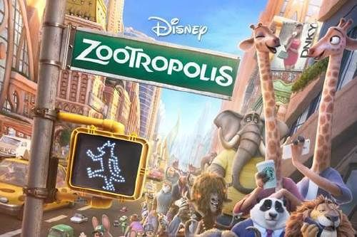 Zootropolis showing in Rome
