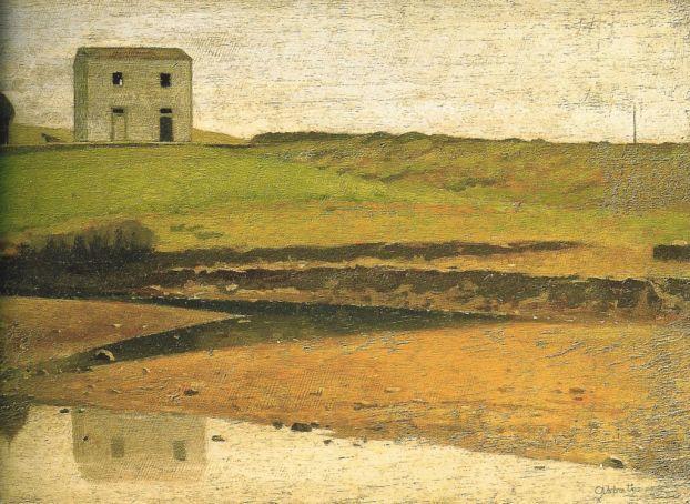 Casa sul botro by Giovanni Fattori.