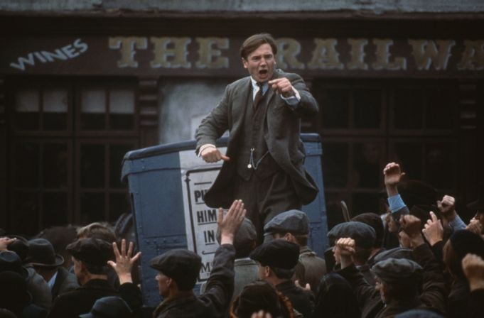 Liam Neeson in Michael Collins.