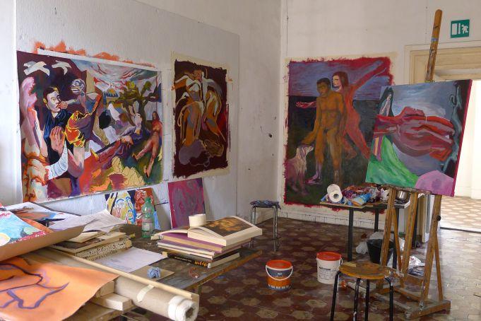 Open studios at RISD