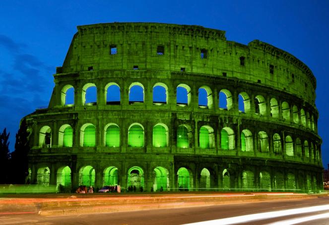 St Patrick's Day in Rome