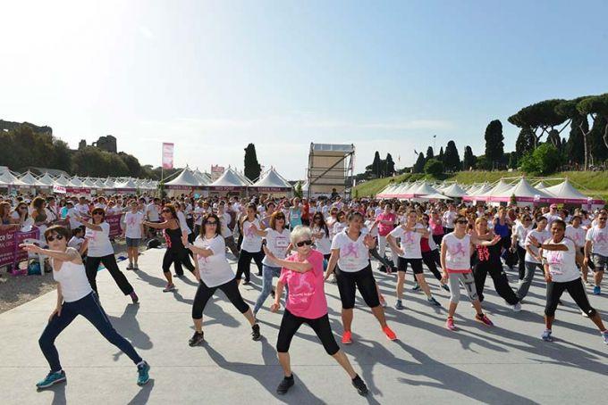 dance race komen rome