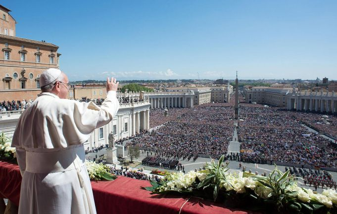 Easter church services in English in Rome
