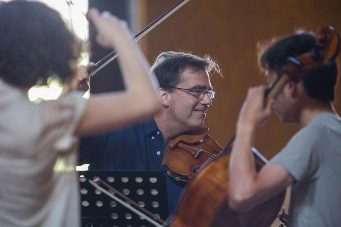 Robert McDuffie benefit concert for Peter Pan Onlus