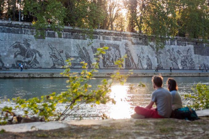 Kentridge mural triumphs in Rome