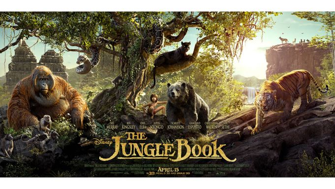 The Jungle Book showing in Rome
