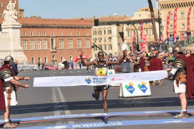 African athletes dominate Rome marathon