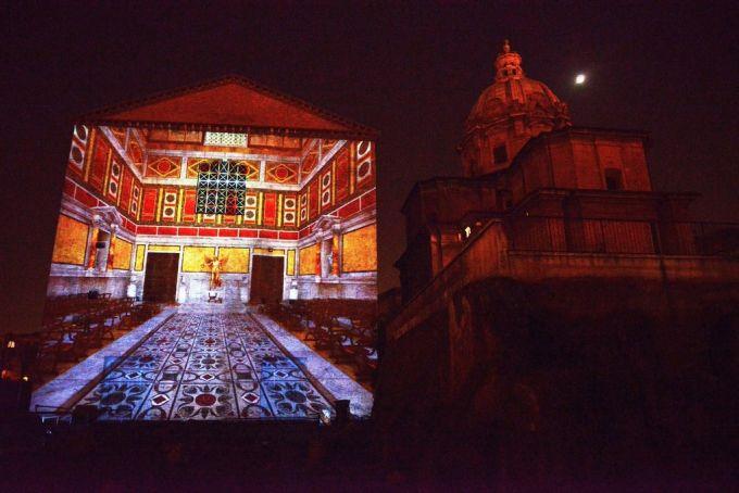 light show rome foto 2